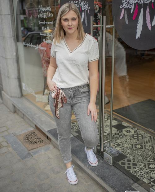jeans foulard toxik