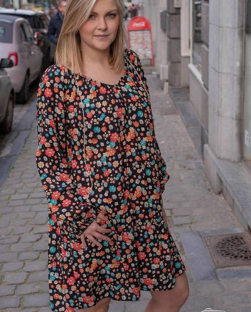robe petites fleurs