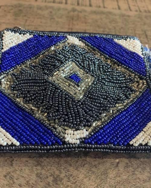pochette Ibiza bleu roi