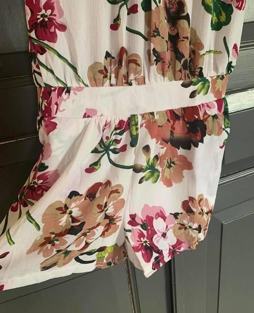 combi short florale