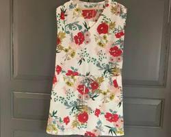 robe fleurie roses