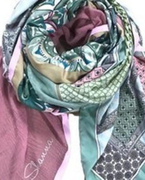 foulard Shanna bleu