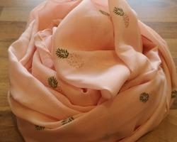 foulard ananas rose
