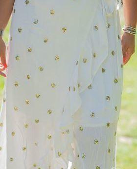Robe Julia blanche