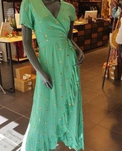 Robe Julia turquoise