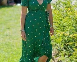 Robe Julia green