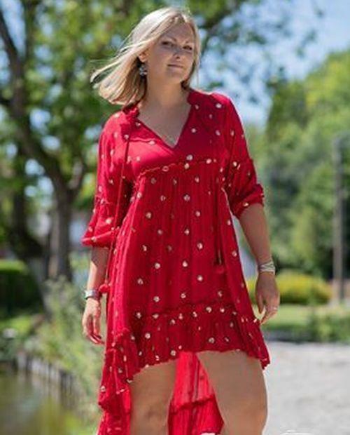 Robe Isadora rouge