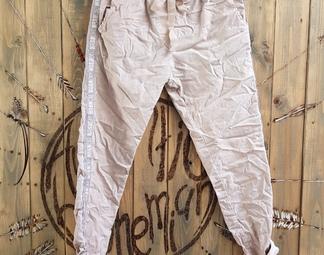 Pantalon , bande écriture