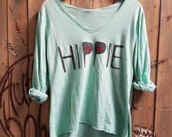 Hippie manche longue