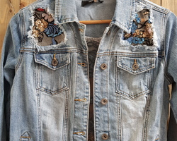 Veste jeans Toxic
